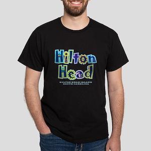 Hilton Head Type - Dark T-Shirt