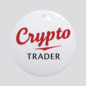 Crypto Trader Round Ornament