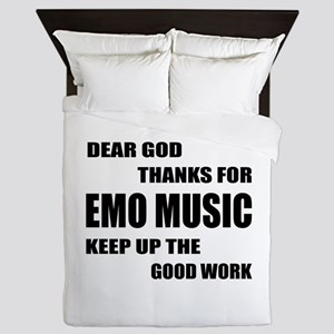 Dear God Thanks For Emo Queen Duvet