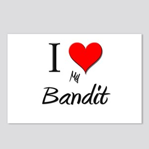 I Love My Bandit Postcards (Package of 8)