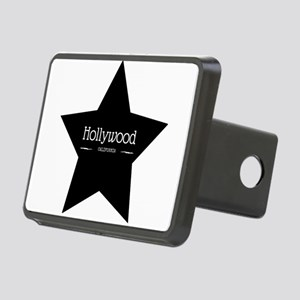 Hollywood California Black Star Hitch Cover