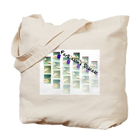 Fading Activities of Daily L Tote Bag