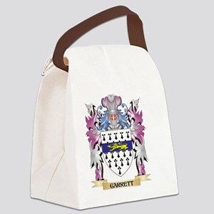 Garrett Coat of Arms (Family Cres Canvas Lunch Bag