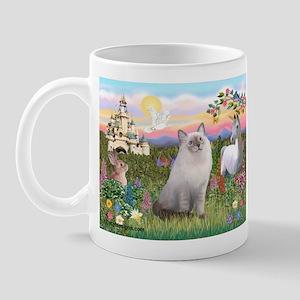 Castle / Ragdoll Mug