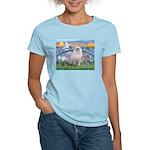 Lilies / Ragdoll Women's Light T-Shirt