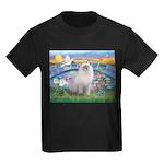 Lilies / Ragdoll Kids Dark T-Shirt