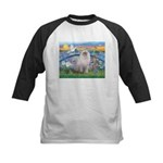 Lilies / Ragdoll Kids Baseball Jersey