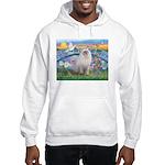 Lilies / Ragdoll Hooded Sweatshirt