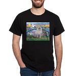 Lilies / Ragdoll Dark T-Shirt
