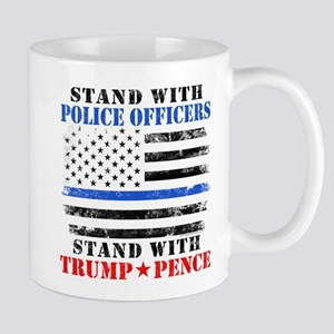 Stand With Police Donald Trump 2016 Mugs
