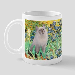 Irises /Ragdoll Mug