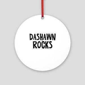 Dashawn Rocks Ornament (Round)