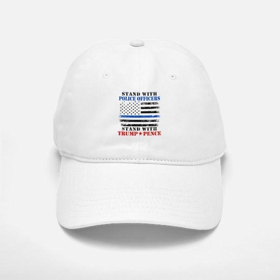 Stand With Police Donald Trump 2016 Baseball Baseball Cap