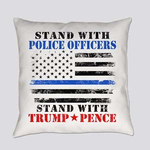 Stand With Police Donald Trump 201 Everyday Pillow