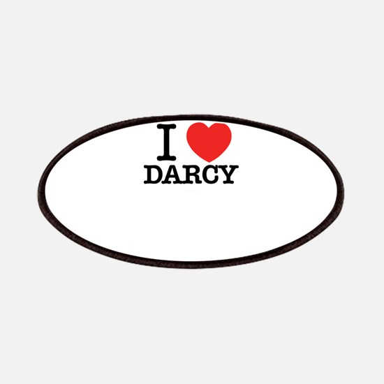 I Love DARCY Patch