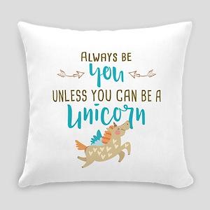 Always Be Unicorn Everyday Pillow