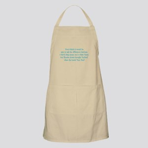 Ron Paul BBQ Apron
