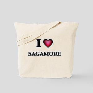 I love Sagamore Massachusetts Tote Bag