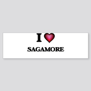 I love Sagamore Massachusetts Bumper Sticker