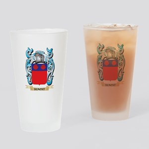 Dumont Coat of Arms - Family Crest Drinking Glass