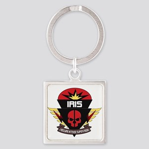 IRIS Badge Keychains