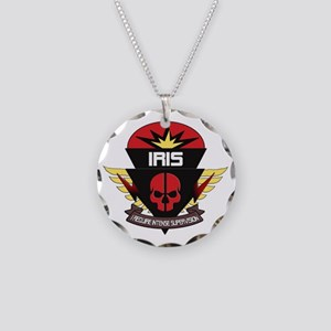 IRIS Badge Necklace