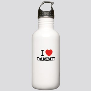 I Love DAMMIT Stainless Water Bottle 1.0L