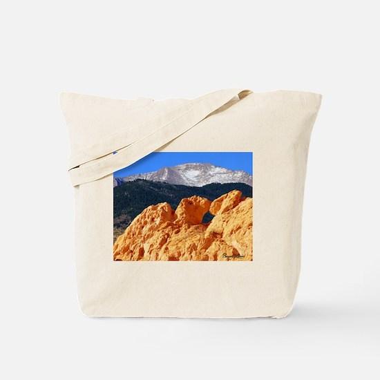 Kissing Camels Tote Bag