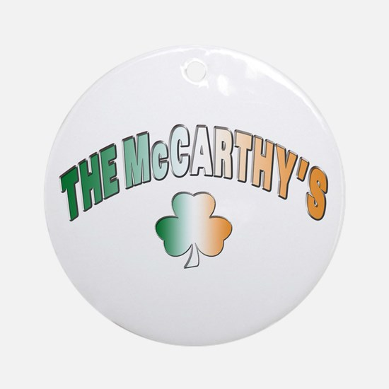 The McCarthy family Ornament (Round)