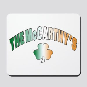 The McCarthy family Mousepad