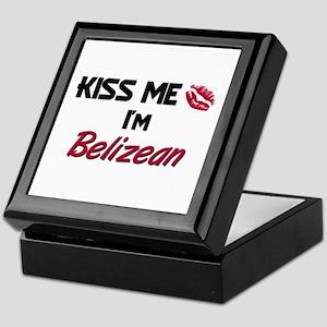 Kiss me I'm Belizean Keepsake Box