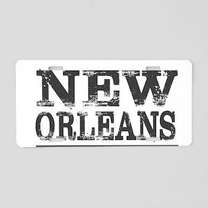 New Orleans Tchoupitoulas S Aluminum License Plate
