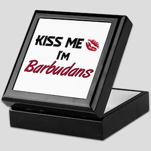 Kiss me I'm Barbudans Keepsake Box