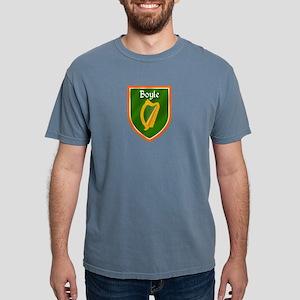 Boyle Family Crest Mens Comfort Colors Shirt