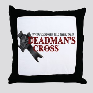 Deadman's Cross Throw Pillow