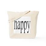 268.happy Tote Bag
