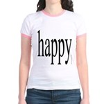 268.happy Jr. Ringer T-Shirt