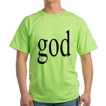 225.god.. Green T-Shirt