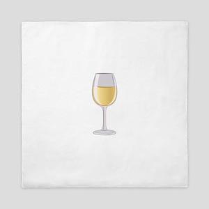 Wine Glass Queen Duvet