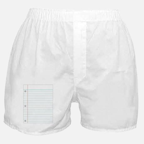 Notebook Boxer Shorts