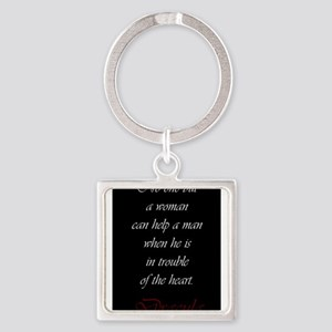 No One But A Woman Keychains
