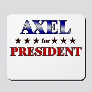 AXEL for president Mousepad