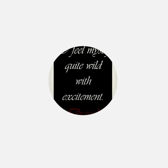 Wild With Excitement Mini Button