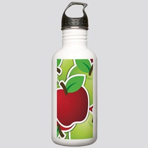 Funky mixed apples Stainless Water Bottle 1.0L