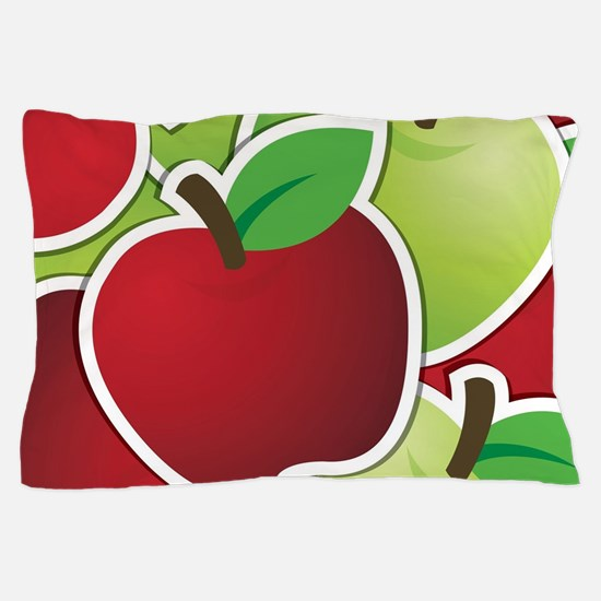 Funky mixed apples Pillow Case