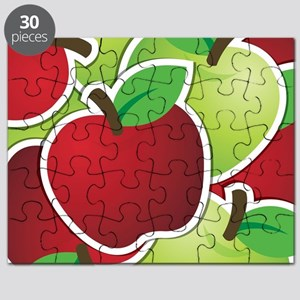 Funky mixed apples Puzzle