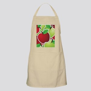 Funky mixed apples Apron