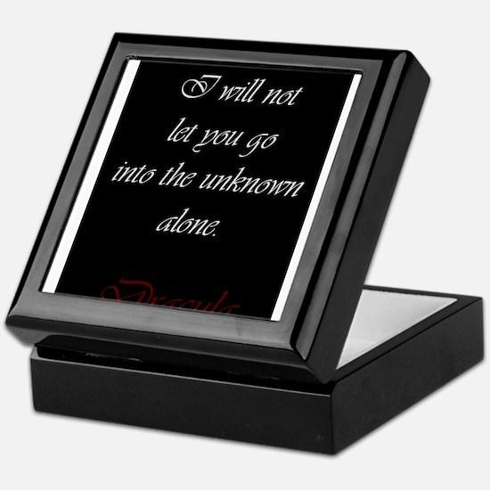 I Will Not Let You Go Keepsake Box