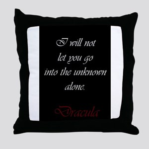 I Will Not Let You Go Throw Pillow