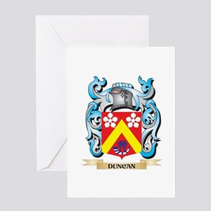 Duncan Coat of Arms - Family Crest Greeting Cards